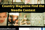 Country Magazine Find the Needle Contest
