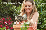 BHG Miracle Gro Project Gro Contest