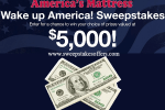 America's Mattress Wake Up America Sweepstakes