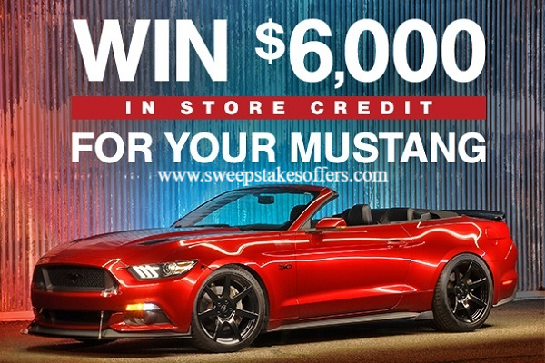 AmericanMuscle $6000 Store Credit Sweepstakes