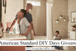 American Standard DIY Days Giveaway