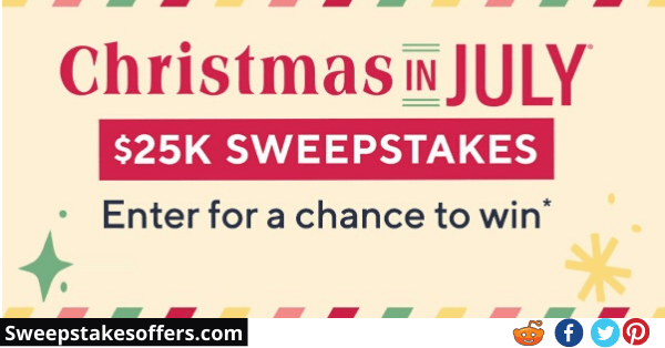 QVC Christmas In July Sweepstakes