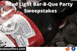 Bud Light Bar-B-Que Party Sweepstakes