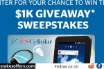 US Cellular $1000 Gift Card Giveaway