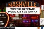 Ultimate Music City Getaway Sweepstakes