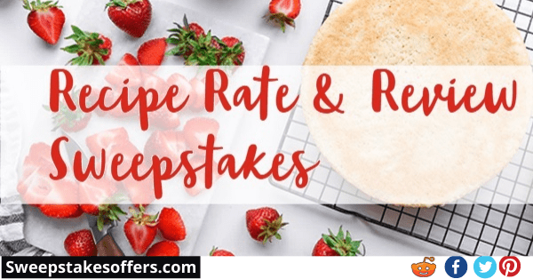 Driscolls Recipe Rate & Review Sweepstakes