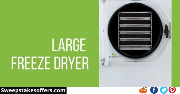 Harvest Right Home Freeze Dryer Sweepstakes