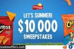 Tasty Rewards Let's Summer Sweepstakes