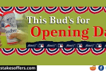 MLB Budweiser Best Buds Opening Day Sweepstakes