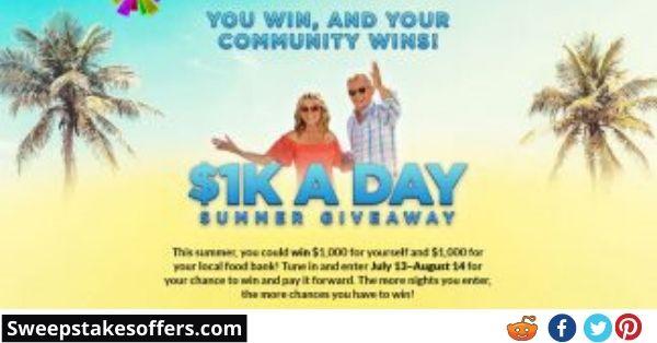 Wheel of Fortune Summer Cash Giveaway