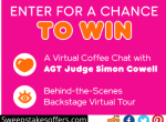 AGT Dunkin Donuts Spot The Runner Sweepstakes