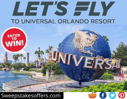 Frontier Lets Fly to Universal Orlando Sweepstakes