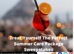 Treat Yourself The Perfect Summer Care Package Sweepstakes