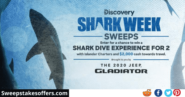 Discovery Shark Week Sweepstakes