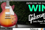 Music Zoo Gibson Les Paul Tribute Giveaway