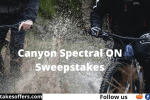 Canyon Spectral ON Sweepstakes