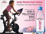 Evian Peak Fitness From Home Sweepstakes