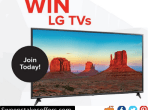 RC Willey Labor Day LG TV Sweepstakes