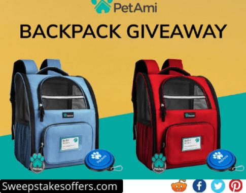 PetAmi Backpack Giveaway