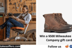 Gear Patrol Milwaukee Boot Giveaway