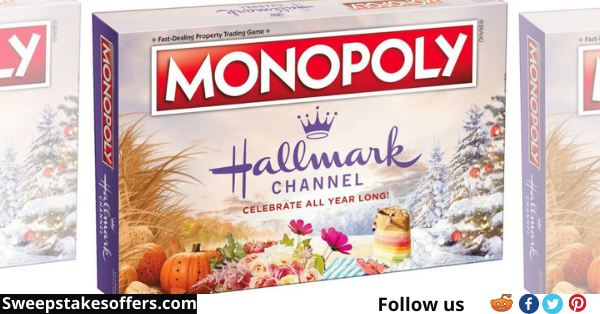 Hallmark Channel Monopoly Game Giveaway