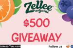 Zellee Organic $500 Giveaway