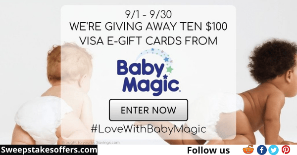 Love With Baby Magic Giveaway