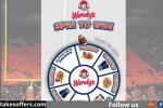 Wendys Spin to Win Sweepstakes