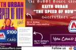 Bobby Bones Keith Urban The Speed of Now Contest