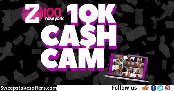 Z100 $10K Cash Cam Contest