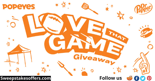 Dr Pepper Popeyes Love That Game Giveaway