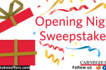 Carnegie Hall Opening Night Watch Party Kit Sweepstakes