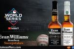 Evan Williams Bourbon MLB Sweepstakes