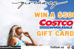 Hapari $500 Costco Gift Card Giveaway