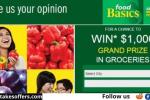 Food Basics Feedback Survey Contest
