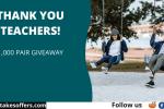 Vessi Footwear Teachers Giveaway