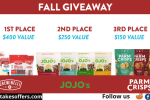 Creminelli Fall Foodie Giveaway