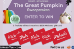 Michaels Great Pumpkin Sweepstakes