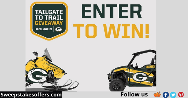 Green Bay Packers Tailgate to Trail Sweepstakes