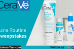 CeraVe Acne Routine Sweepstakes