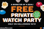 Cinemark Halloween Giveaway
