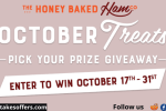 Honey Baked Ham October Treats Sweepstakes