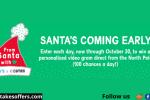 Carter's x Cameo Santa Video Gram Sweepstakes