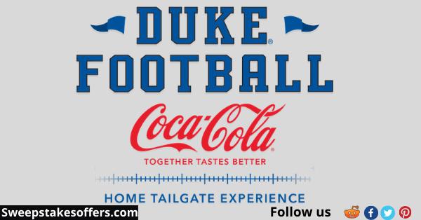 Duke Football Home Tailgate Experience Sweepstakes