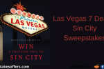 Las Vegas 7 Deadly Sin City Sweepstakes