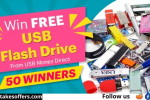 USB Flash Drive Giveaway