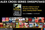Alex Cross Series James Patterson Sweepstakes