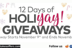 Oriental Trading 12 Days of HoliYAY Giveaway