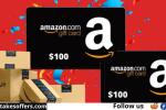 Showtimes Amazon $100 Gift Card Sweepstakes