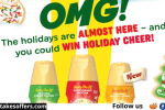 Interntional Delight Buddy the Elf Sweepstakes